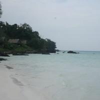 Long beach à Koh Rong