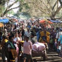 Le marché de Boawae
