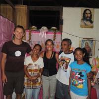 Avec Franz et sa famille