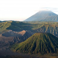 Les volcans Batok, Bromo et Semeru de plus près