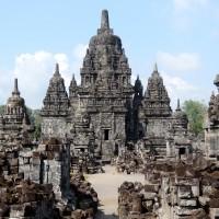 Le Candi Sewu à Prambanan