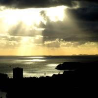 Des traits de lumière sur Nouméa
