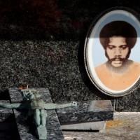 La sépulture d'Alphonse Dianou