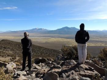 Contemplation de l'altiplano sur le mirador