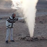 A côté des geysers chauds (mais pas trop)