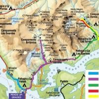 Notre parcours à Torres del Paine
