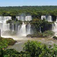 Vue du côté brésilien
