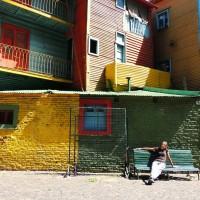 La rue Caminito dans le quartier de la Boca