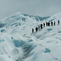 Mini-trekking sur la glace