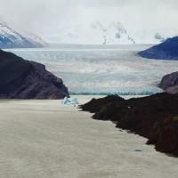 Mirador du glacier Grey