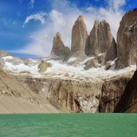 Face aux Torres del Paine
