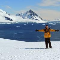 Sur la péninsule Antarctique