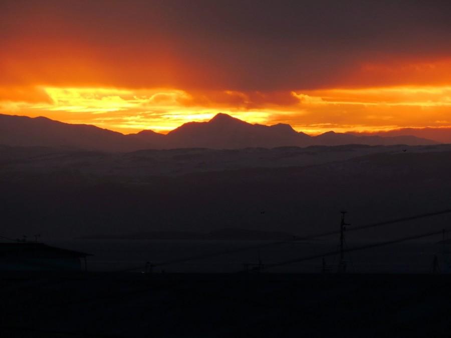 Lever de soleil à Ushuaia