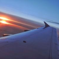 Le vol de retour depuis Madrid
