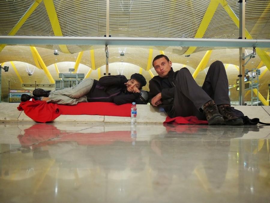 Un dernier squat dans l'aéroport de Madrid