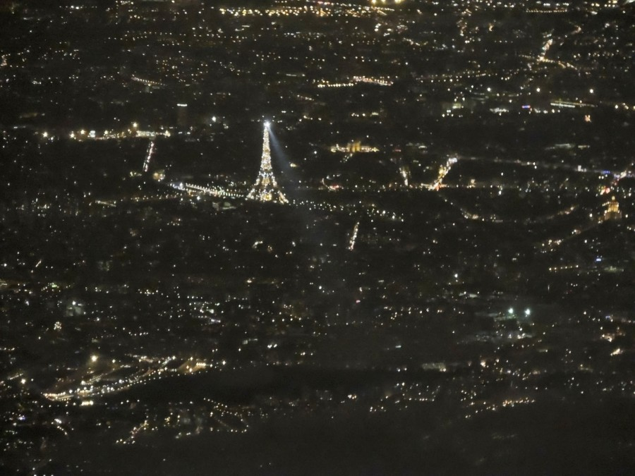 Paris by night and by air