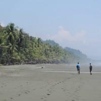La plage de dingue du Corcovado